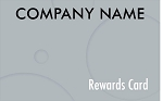 Gunmetal Gray Rewards Cards