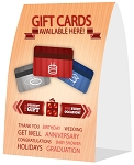 Gift Card Table Tent
