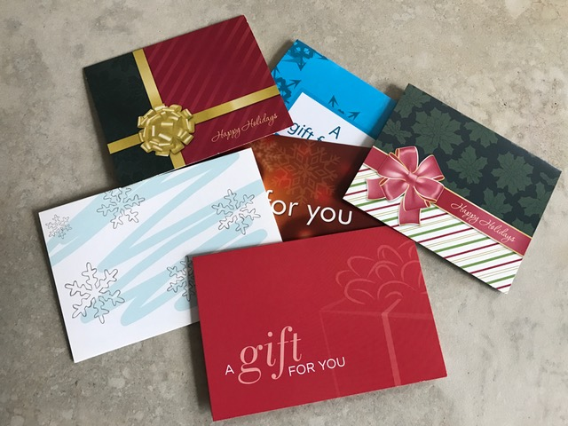 Top 5 Holiday Gift Card Checklist